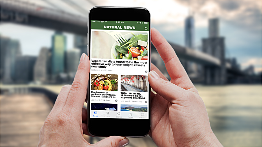 Natural News releases new app for Android and iPhone … get it here